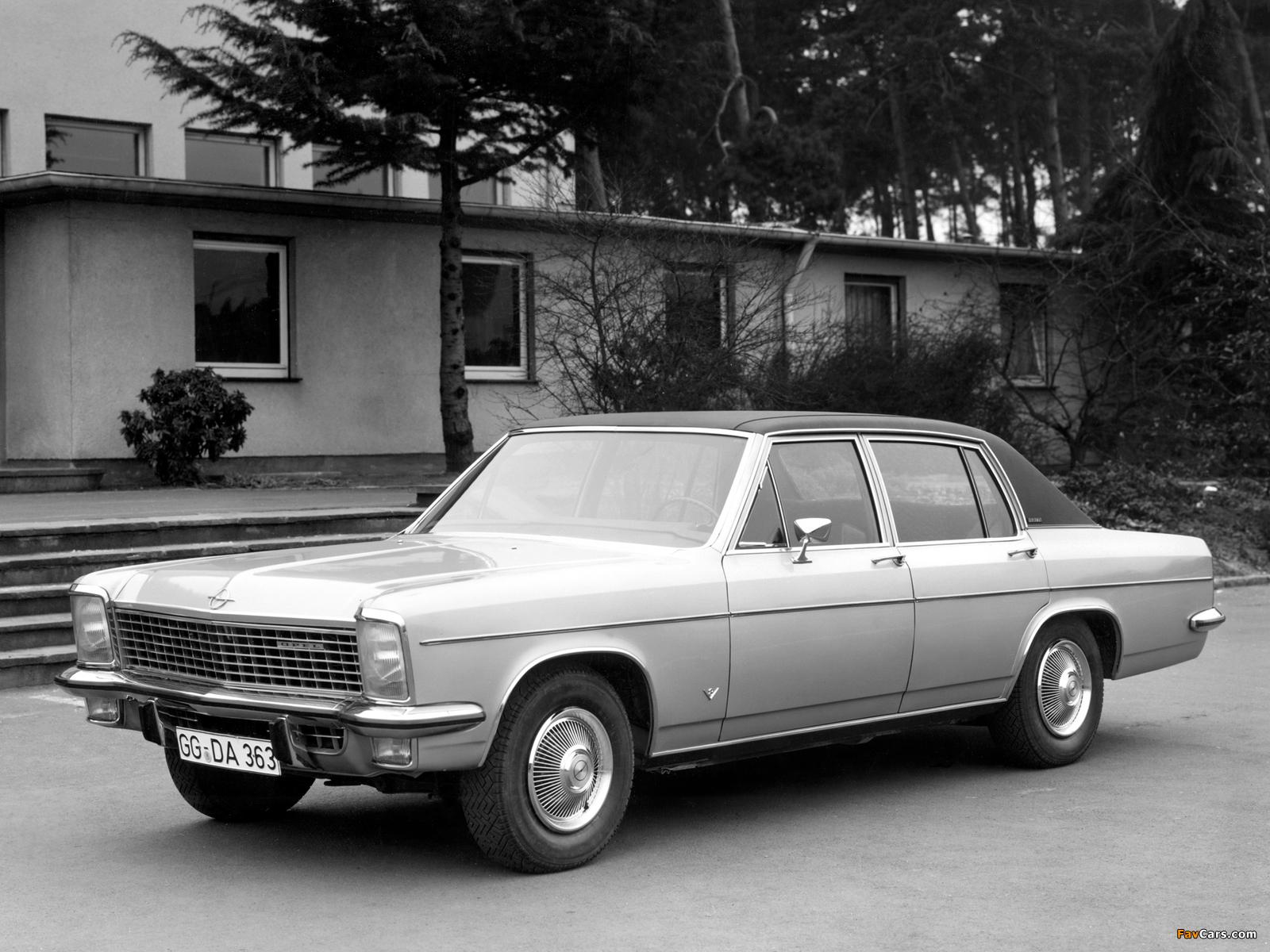 Opel Diplomat V8 (B) 1969–77 images (1600 x 1200)
