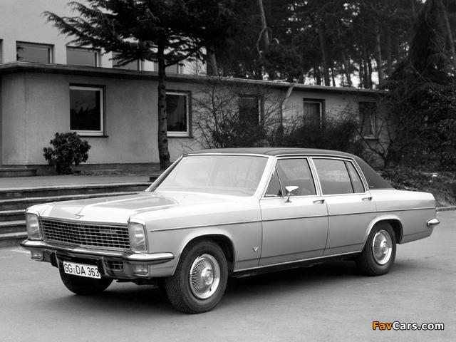 Opel Diplomat V8 (B) 1969–77 images (640 x 480)