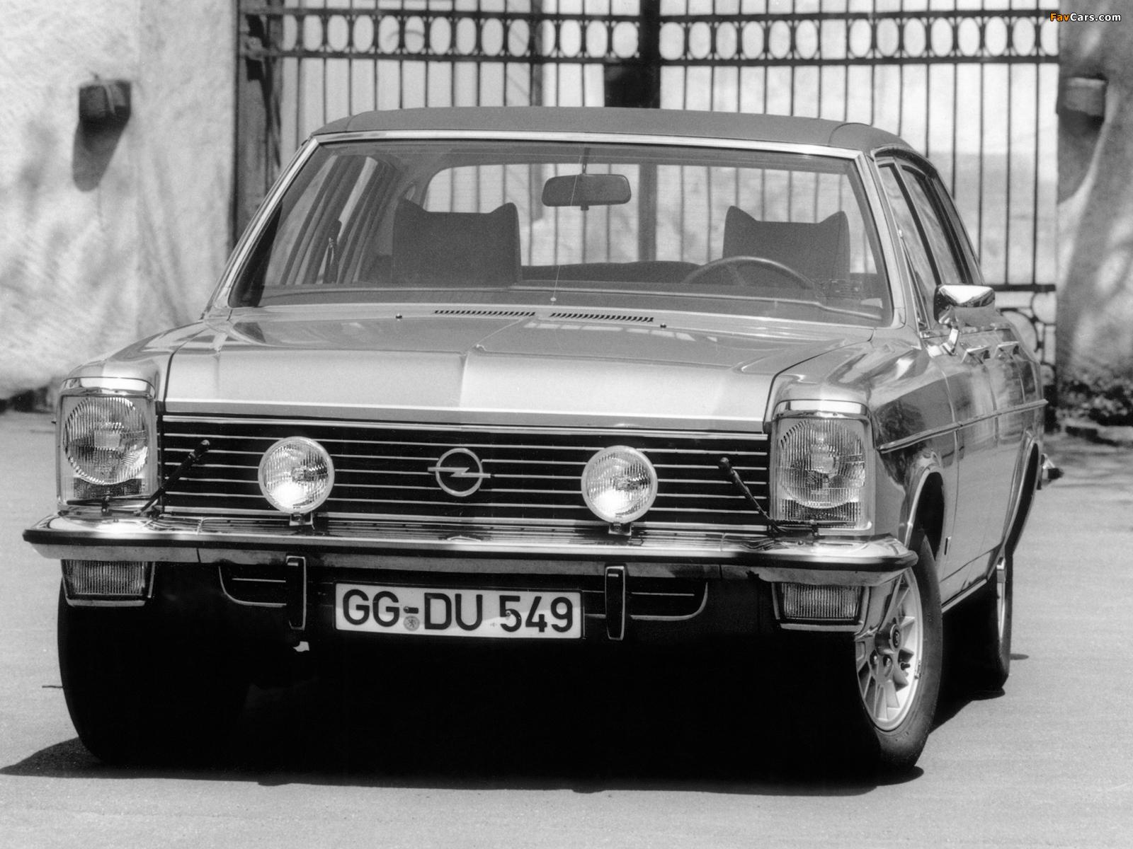 Opel Diplomat V8 (B) 1969–77 photos (1600 x 1200)