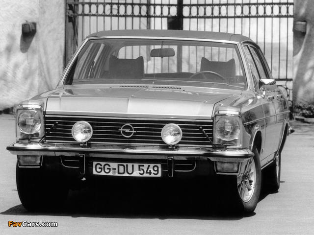Opel Diplomat V8 (B) 1969–77 photos (640 x 480)
