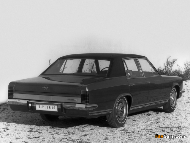 Opel Diplomat V8 (B) 1969–77 pictures (640 x 480)