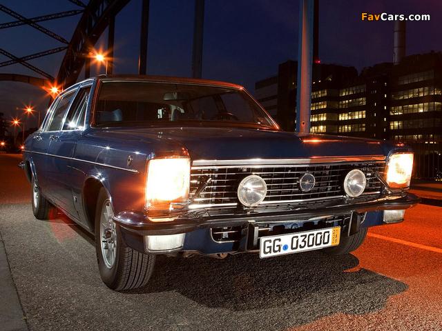 Opel Diplomat V8 (B) 1969–77 wallpapers (640 x 480)