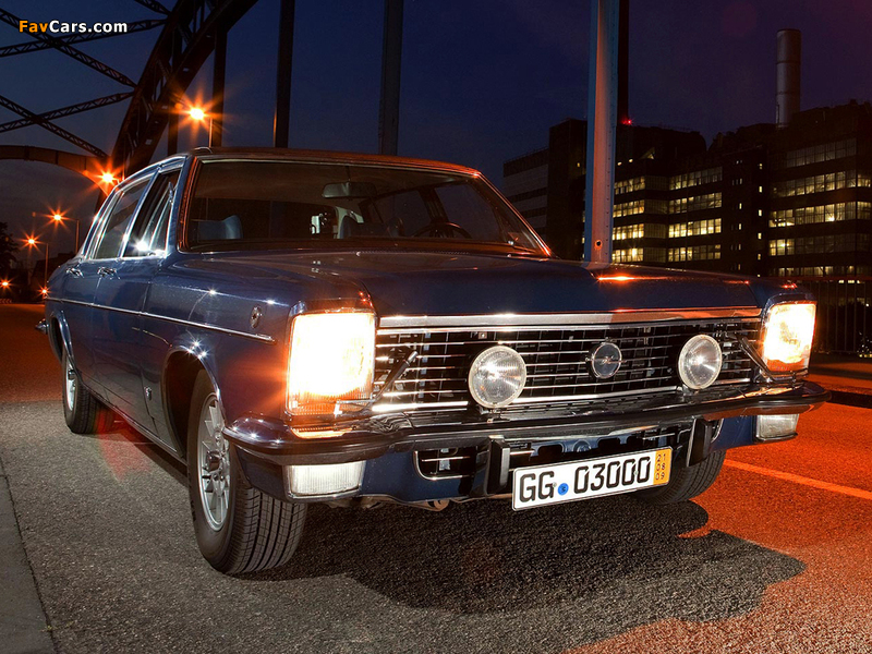 Opel Diplomat V8 (B) 1969–77 wallpapers (800 x 600)