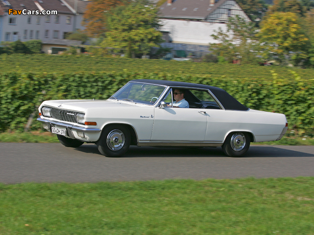 Photos of Opel Diplomat V8 Coupe (A) 1965–67 (640 x 480)