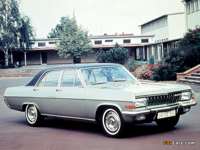 Pictures of Opel Diplomat (A) 1964–68 (640 x 480)