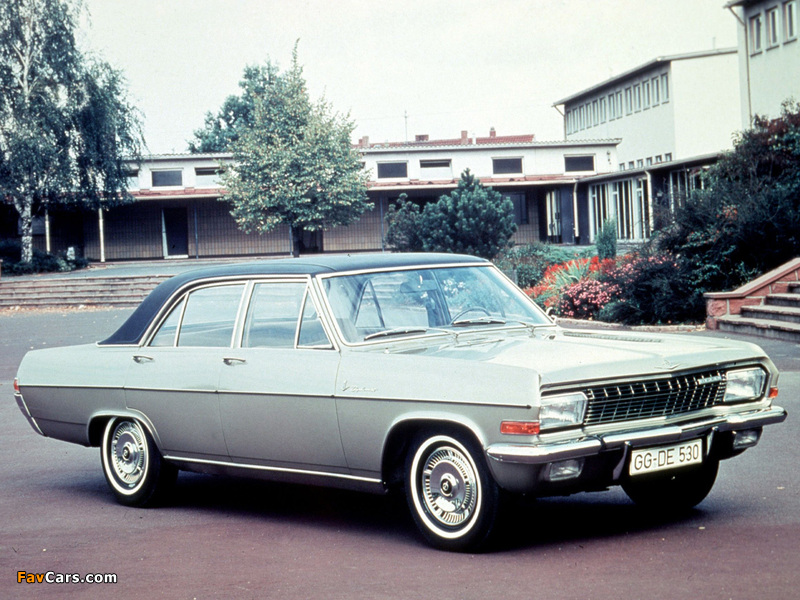Pictures of Opel Diplomat (A) 1964–68 (800 x 600)