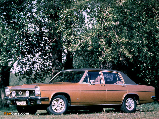 Pictures of Opel Diplomat V8 (B) 1969–77 (640 x 480)