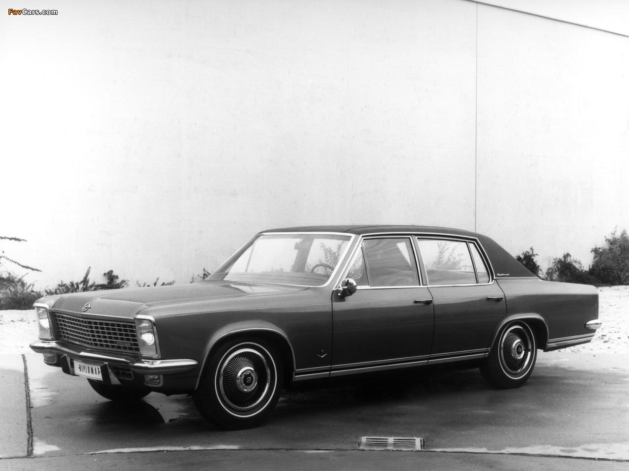 Opel Diplomat V8 (B) 1969–77 wallpapers (1280 x 960)