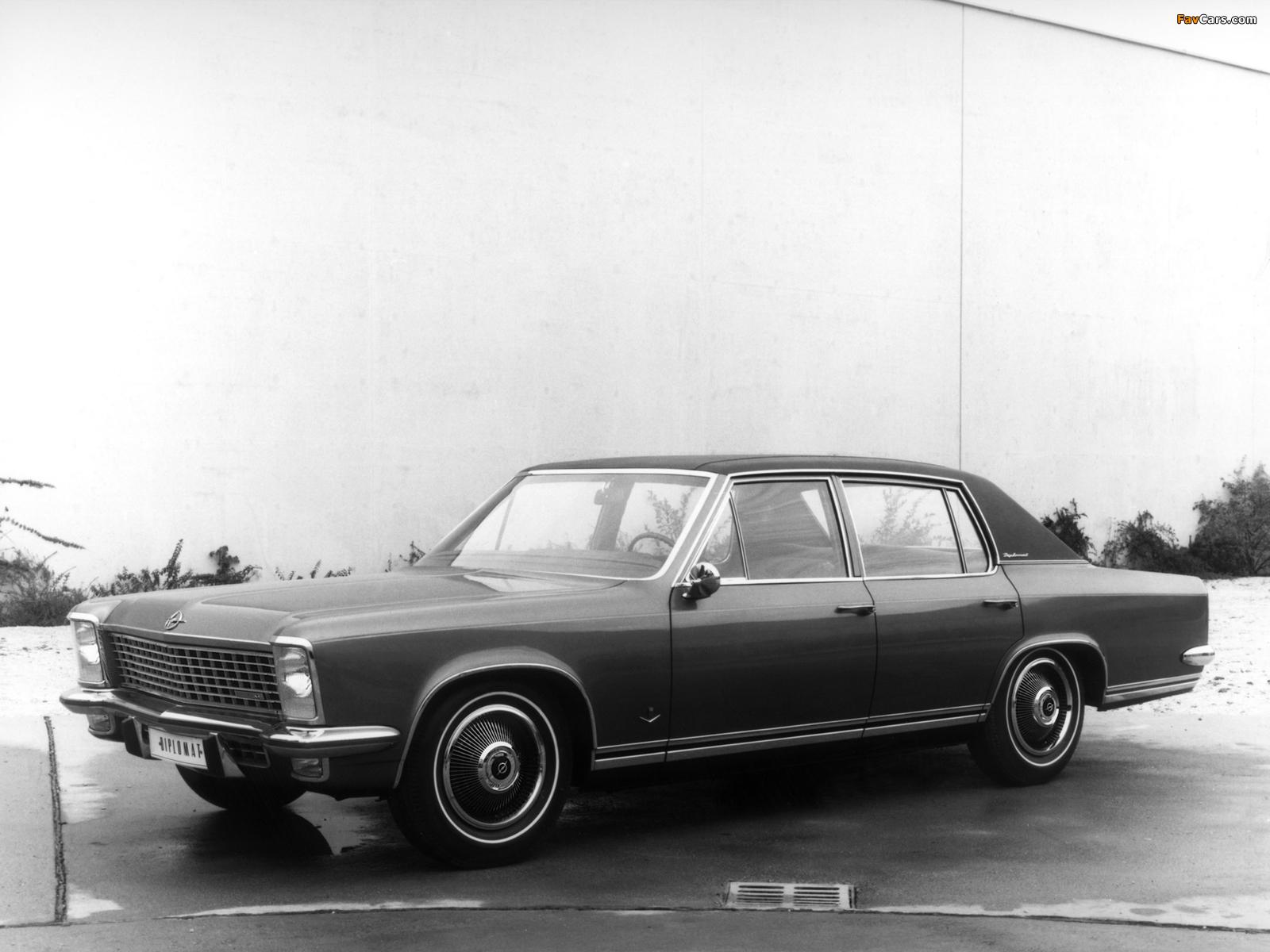 Opel Diplomat V8 (B) 1969–77 wallpapers (1600 x 1200)