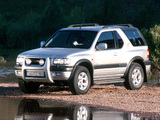 Images of Opel Frontera Sport (B) 1998–2003