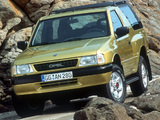 Opel Frontera Sport (A) 1992–98 images