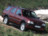 Opel Frontera (A) 1992–98 pictures