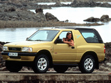 Opel Frontera Sport (A) 1992–98 pictures