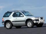 Opel Frontera Sport (B) 1998–2003 images