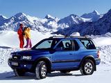 Opel Frontera Sport (B) 1998–2003 photos