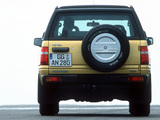 Photos of Opel Frontera Sport (A) 1992–98