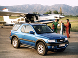 Photos of Opel Frontera Sport (B) 1998–2003