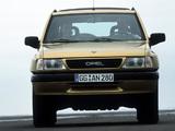 Opel Frontera Sport (A) 1992–98 wallpapers