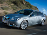 Images of Opel Insignia Sports Tourer 2008–13