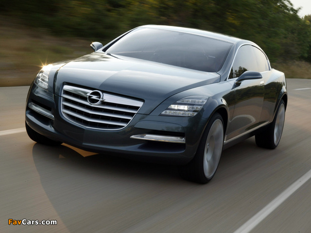 Opel Insignia Concept 2003 images (640 x 480)
