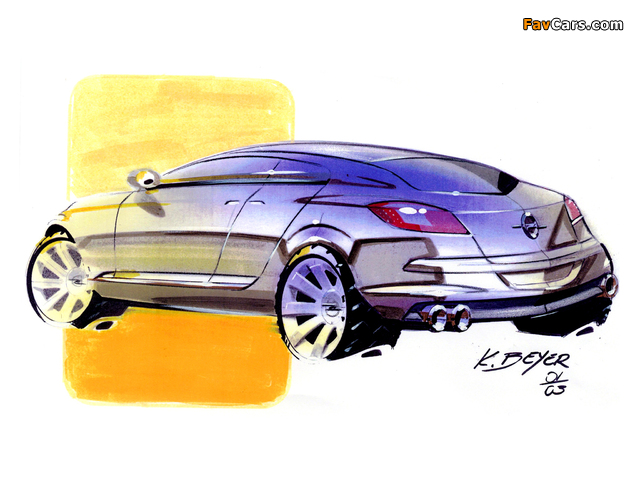 Opel Insignia Concept 2003 wallpapers (640 x 480)
