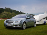 Opel Insignia Turbo 4x4 Sports Tourer 2008–13 images