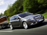 Opel Insignia Turbo 4x4 Sports Tourer 2008–13 pictures