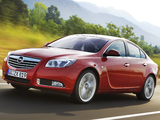 Opel Insignia Turbo 2008–13 wallpapers