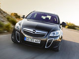 Opel Insignia OPC Sports Tourer 2009–13 images
