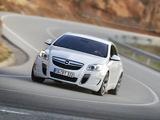 Opel Insignia OPC 2009–13 photos