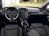 Opel Insignia OPC Sports Tourer 2009–13 photos