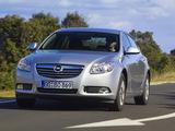 Opel Insignia ecoFLEX 2009–13 photos