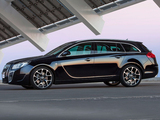 Opel Insignia OPC Sports Tourer 2009–13 pictures