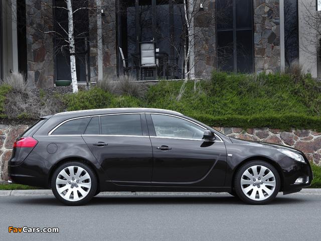 Opel Insignia Turbo Sports Tourer AU-spec 2012–13 images (640 x 480)