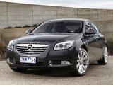 Opel Insignia Turbo AU-spec 2012–13 images