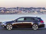 Opel Insignia BiTurbo Sports Tourer 2012–13 images