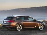 Opel Insignia BiTurbo Sports Tourer 2012–13 photos