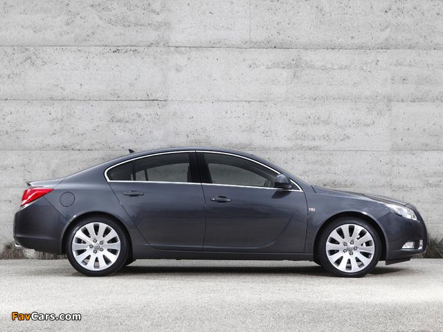 Opel Insignia Turbo AU-spec 2012–13 photos (640 x 480)