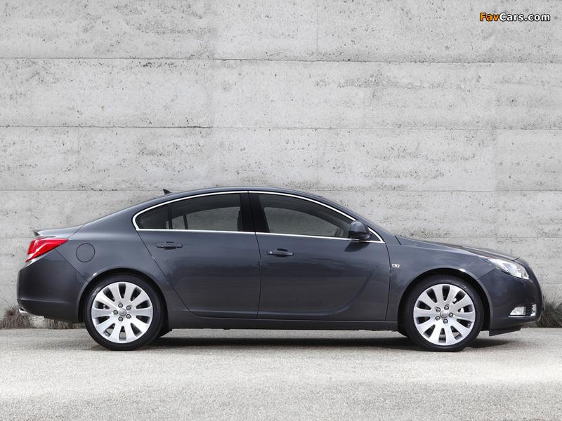 Opel Insignia Turbo AU-spec 2012–13 photos (800 x 600)
