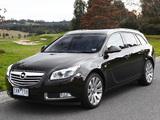 Opel Insignia Turbo Sports Tourer AU-spec 2012–13 photos