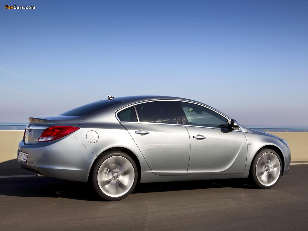 Opel Insignia BiTurbo 2012–13 pictures (1024 x 768)