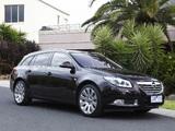 Opel Insignia Turbo Sports Tourer AU-spec 2012–13 pictures