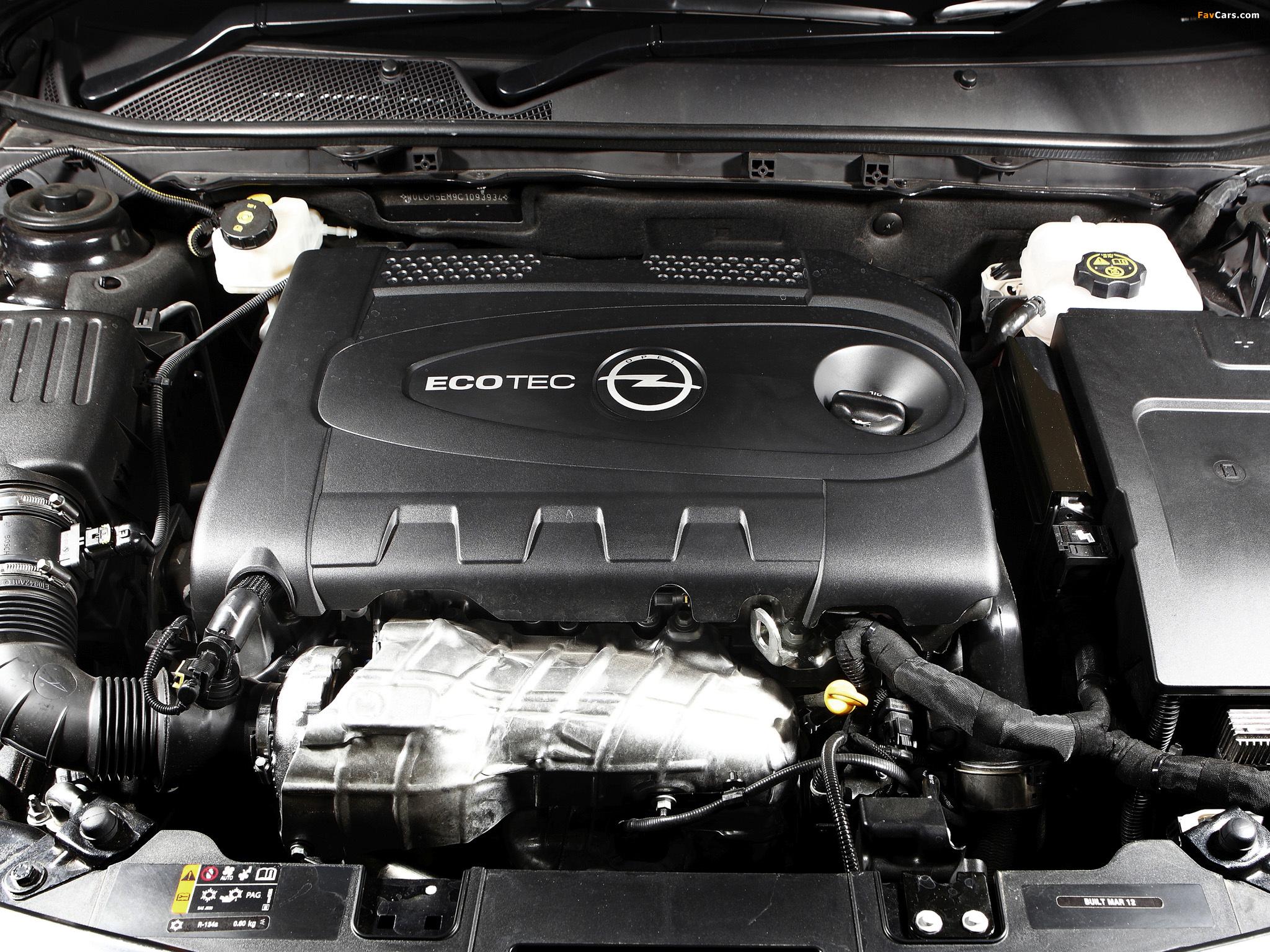 Opel Insignia Turbo AU-spec 2012–13 wallpapers (2048 x 1536)