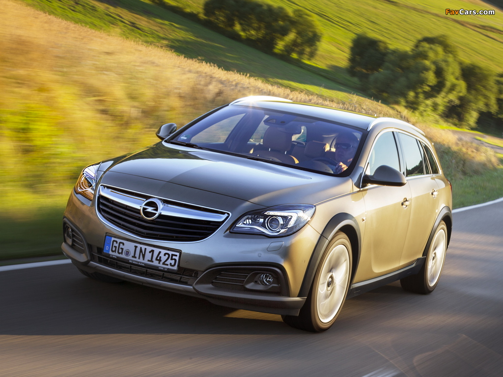 Opel Insignia Country Tourer 2013 wallpapers (1024 x 768)