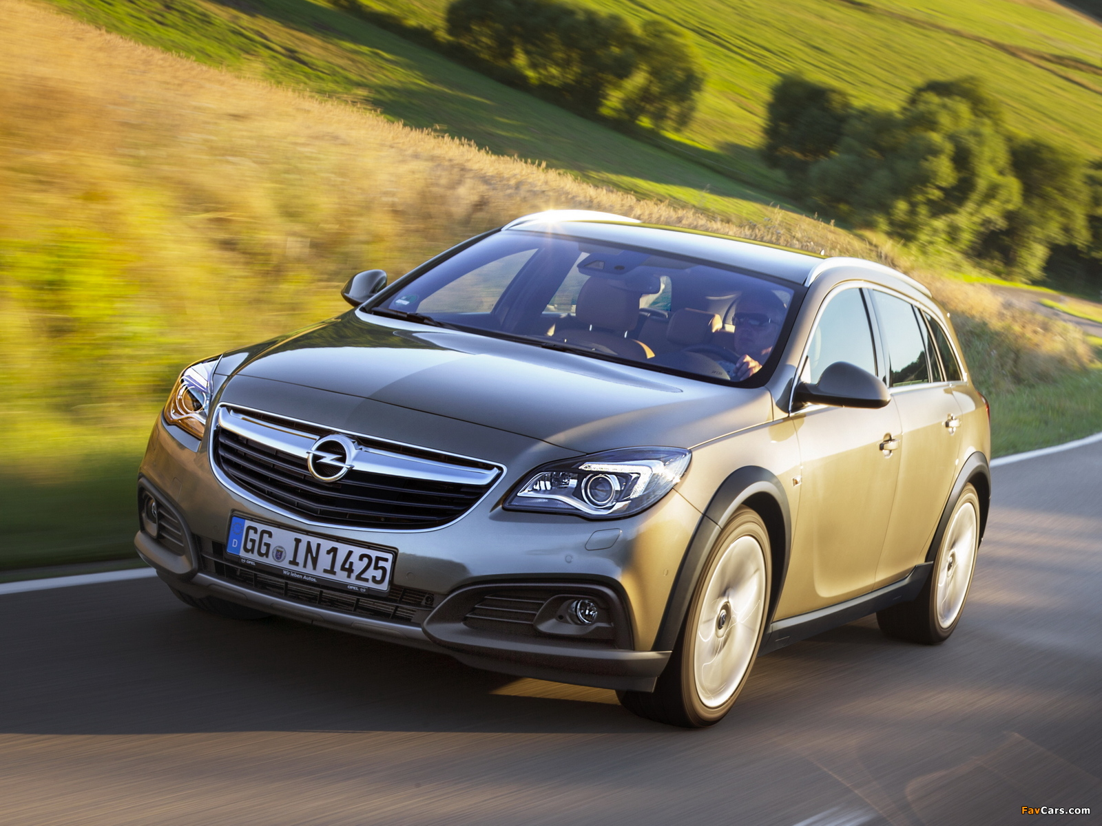 Opel Insignia Country Tourer 2013 wallpapers (1600 x 1200)