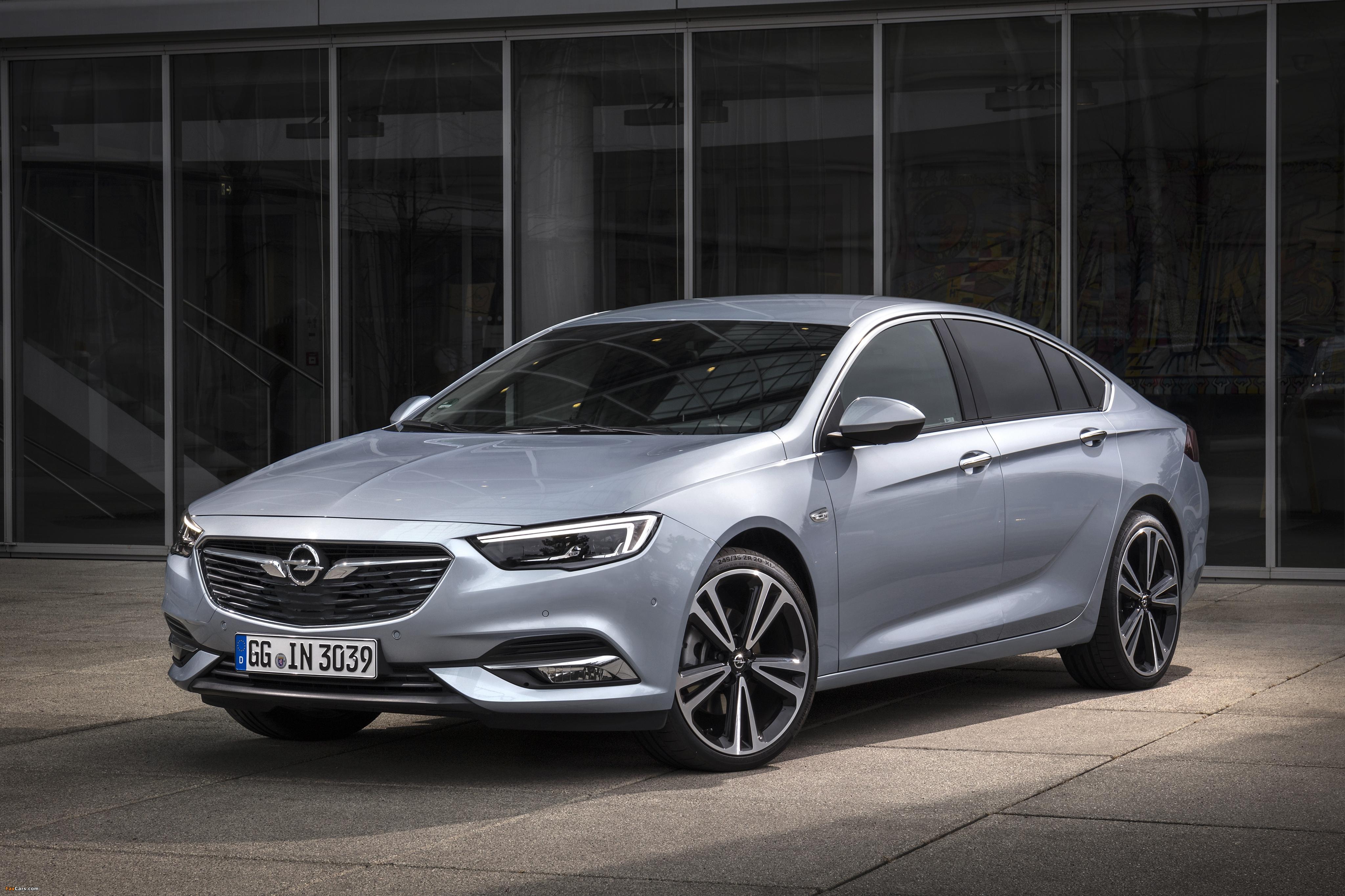 Opel Insignia Grand Sport Turbo D 2017 Wallpapers 4096x2731