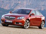 Photos of Opel Insignia Turbo 2008–13