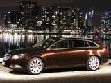 Photos of Opel Insignia Turbo Sports Tourer AU-spec 2012–13