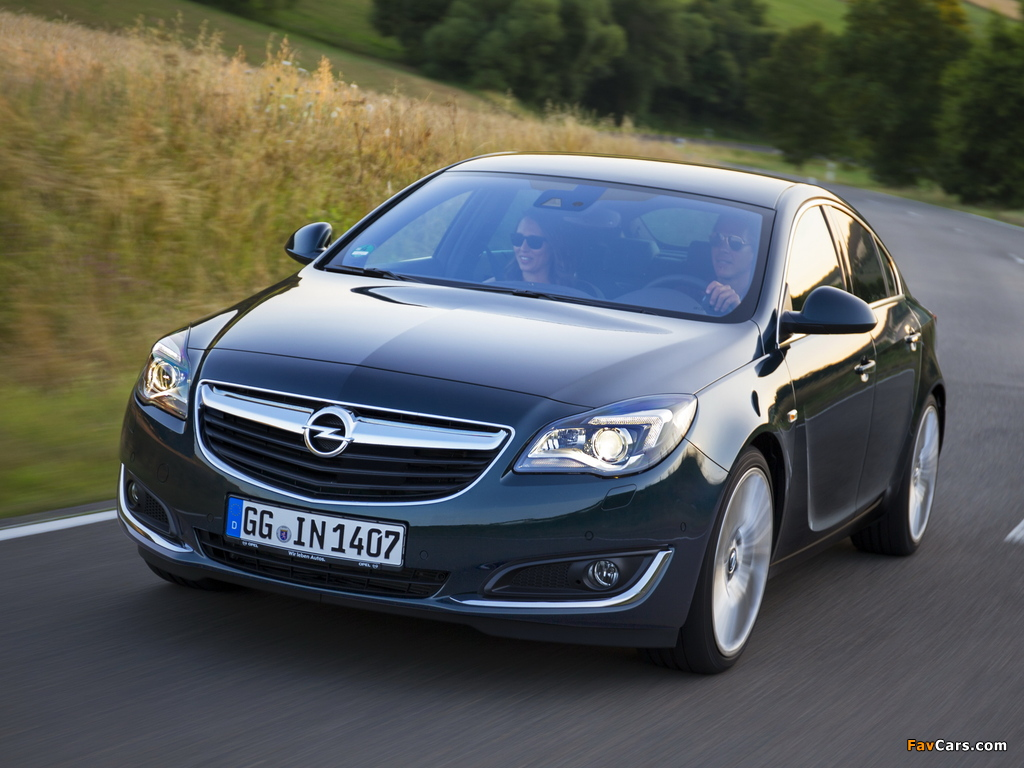 Photos of Opel Insignia Hatchback 2013 (1024 x 768)