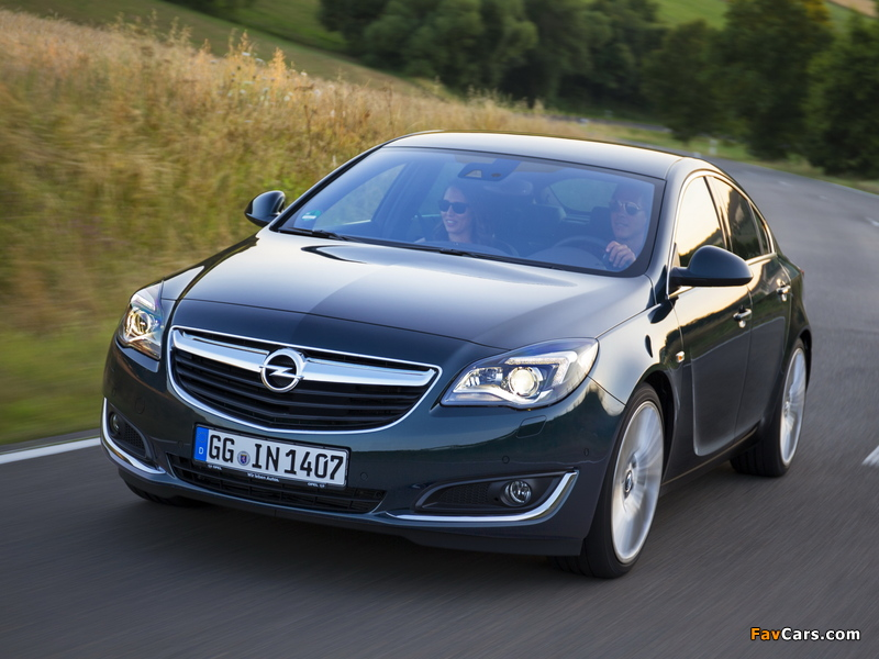 Photos of Opel Insignia Hatchback 2013 (800 x 600)